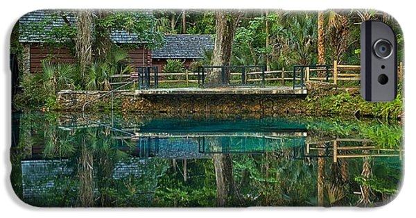 Juniper Springs Florida IPhone Case by Adam Jewell