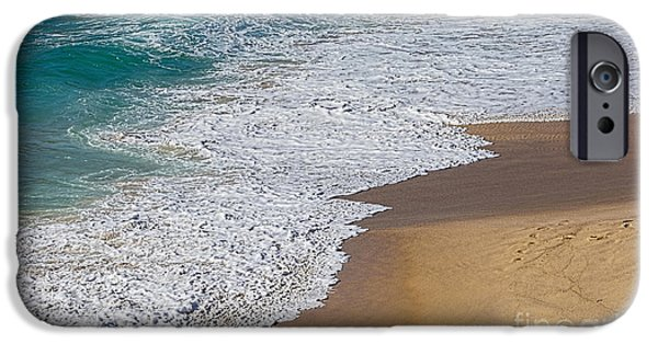 Just Waves And Sand By Kaye Menner IPhone Case by Kaye Menner