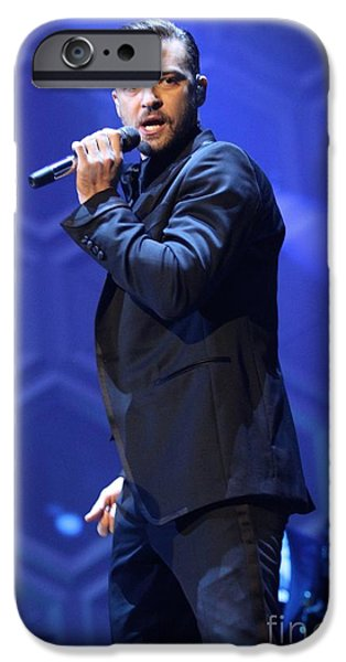 Justin Timberlake IPhone Case featuring the photograph Singer Justin Timberlake by Front Row  Photographs