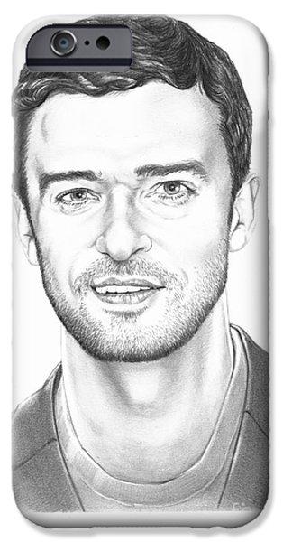 Justin Timberlake IPhone Case by Murphy Elliott