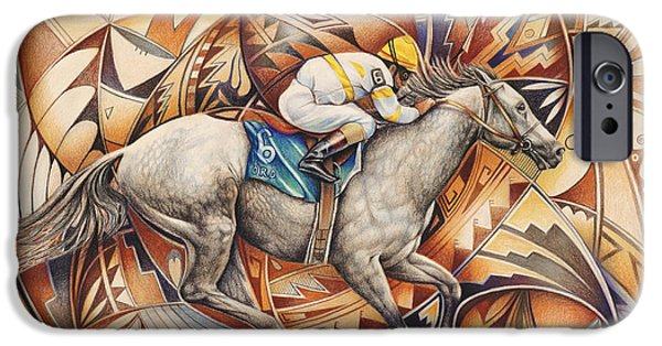 Kaleidoscope Rider IPhone Case by Ricardo Chavez-Mendez