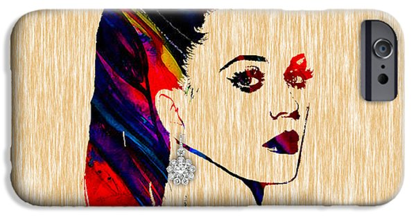 Katy Perry Collection IPhone Case by Marvin Blaine