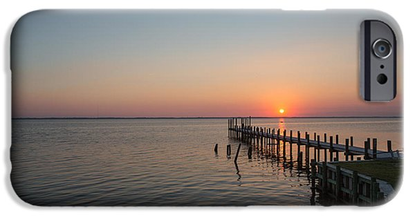 Kayaks In Sunset IPhone Case by Kay Pickens