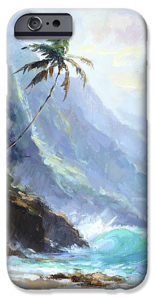 Ke'e Beach IPhone Case by Jenifer Prince