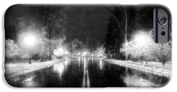 Keeneland Entrance In Black And White IPhone Case by Christopher Hignite