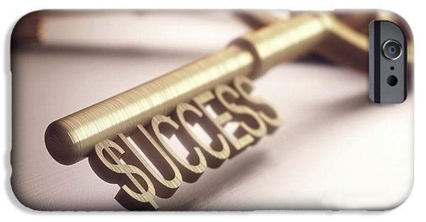 Key To Success IPhone Case by Ktsdesign