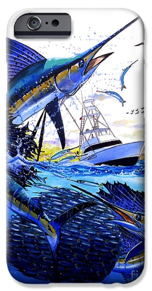 Keys Sail IPhone Case by Carey Chen