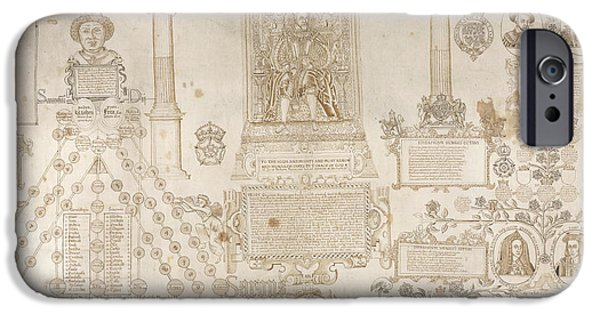 King James I Enthroned IPhone Case by British Library