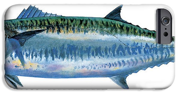 King Mackerel IPhone Case by Carey Chen