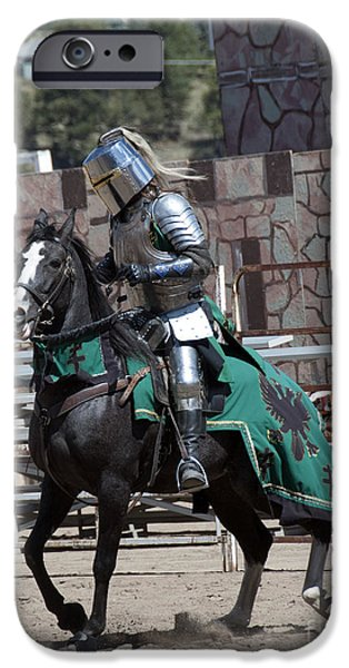 Knight In Shining Armor IPhone Case by Juli Scalzi