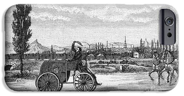 Kroener's Driving Machine, 1840s IPhone Case by Bildagentur-online
