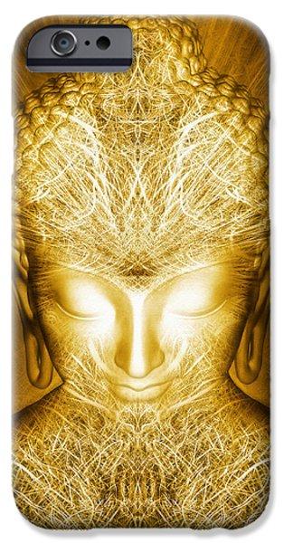 Kundalini Awakening IPhone Case by Jalai Lama