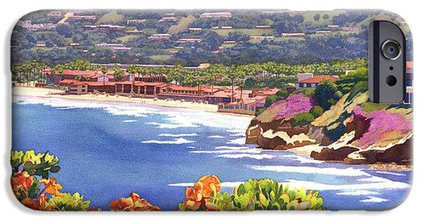 La Jolla Beach And Tennis Club IPhone Case by Mary Helmreich