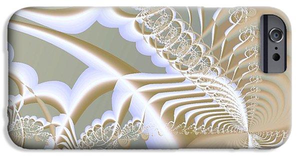 Lace IPhone Case by Anastasiya Malakhova