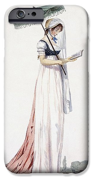 Ladies Elegant Summer Dress IPhone 6s Case by English School