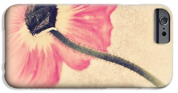 Lady Poppy II IPhone Case by Angela Doelling AD DESIGN Photo and PhotoArt