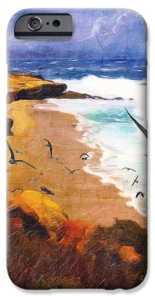 Lajolla Afternoon IPhone Case by Lianne Schneider