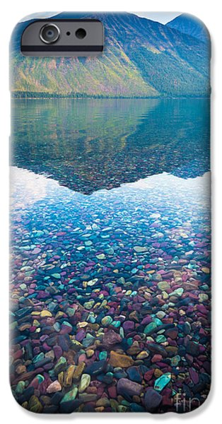 Lake Mcdonald IPhone Case by Inge Johnsson