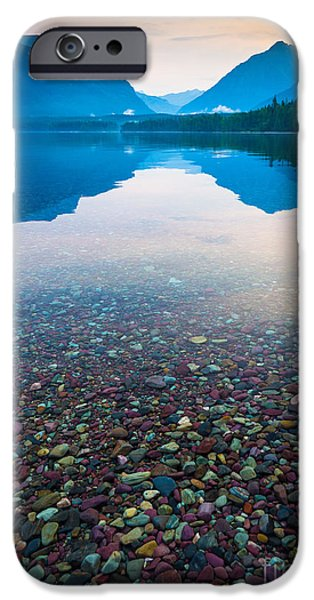 Lake Mcdonald Serenity IPhone Case by Inge Johnsson