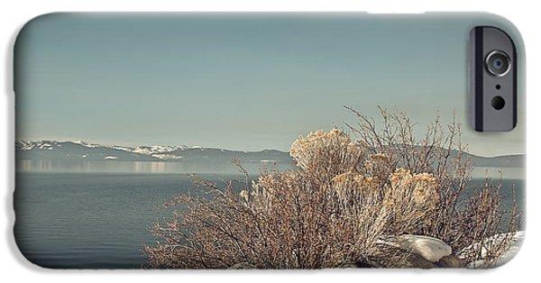 Lake Tahoe Winter IPhone Case by Kim Hojnacki