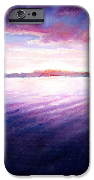 Lakeside Sunset IPhone Case by Shana Rowe Jackson