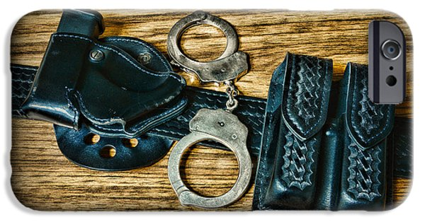 Law Enforcement - Police -duty Belt IPhone Case by Paul Ward