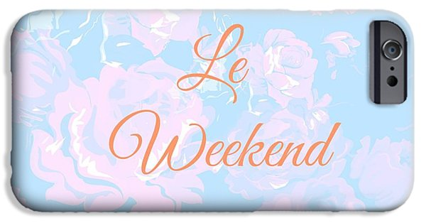 Le Weekend IPhone Case by Chastity Hoff