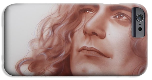 Robert Plant - ' Leaves Are Falling All Around ' IPhone 6s Case by Christian Chapman Art