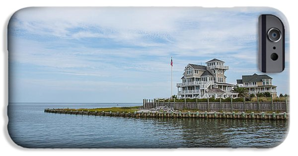 Leaving Hatteras IPhone Case by Kay Pickens