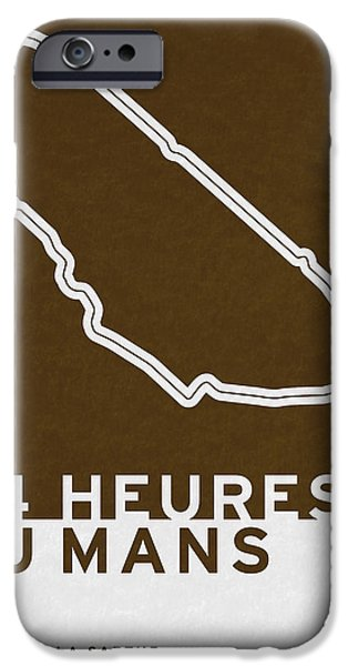 Legendary Races - 1923 24 Heures Du Mans IPhone Case by Chungkong Art
