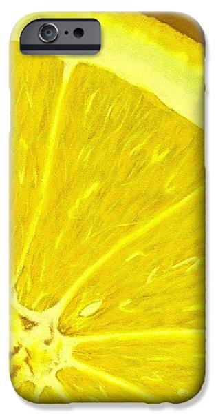 Lemon IPhone Case by Anastasiya Malakhova