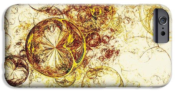 Lemon Bubbles IPhone Case by Anastasiya Malakhova