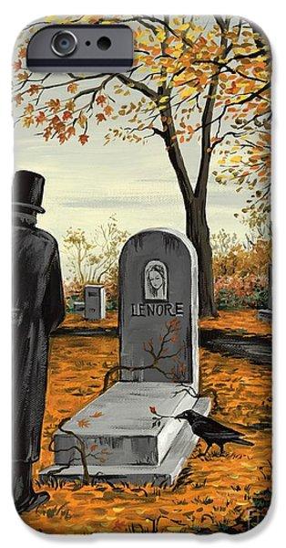Lenore Lenore IPhone Case by Margaryta Yermolayeva