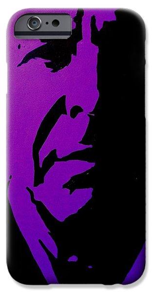 Leonard Cohen IPhone Case by John  Nolan