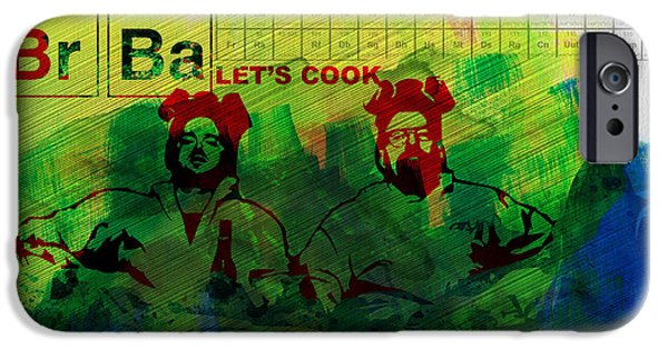 Let's Cook Watercolor IPhone Case by Naxart Studio