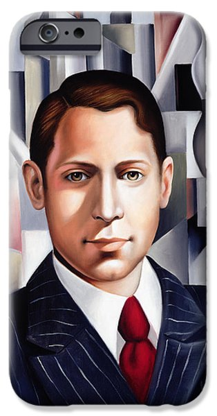 L'homme D'affaire IPhone Case by Catherine Abel