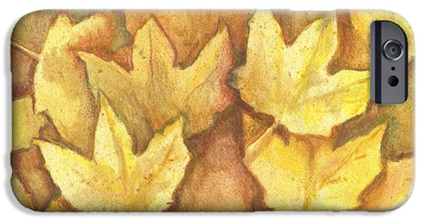 Life Is Golden IPhone Case by Shana Rowe Jackson