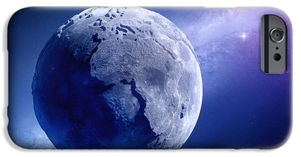 Lifeless Earth IPhone Case by Johan Swanepoel