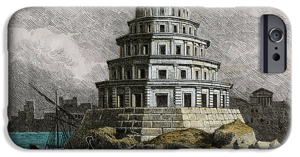 Lighthouse Of Alexandria IPhone Case by Cci Archives