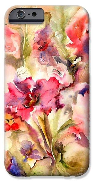 Lilies IPhone 6s Case by Neela Pushparaj