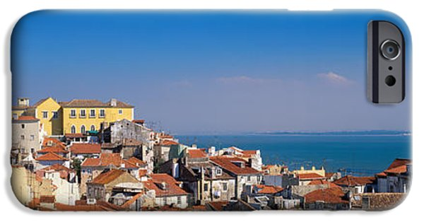 Lisbon, Cityscape, Skyline, Portugal IPhone Case by Panoramic Images