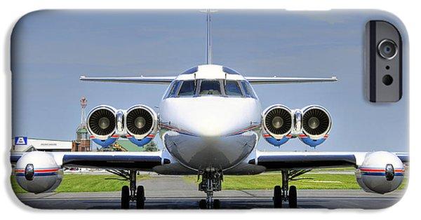 Lockheed Jetstar 2 IPhone Case by Dan Myers