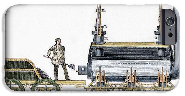 Locomotive IPhone Case by George Stephenson
