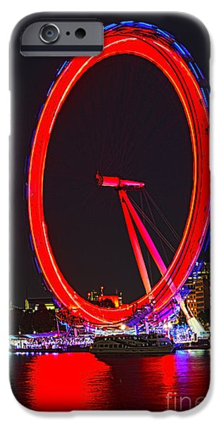 London Eye Red IPhone 6s Case by Jasna Buncic