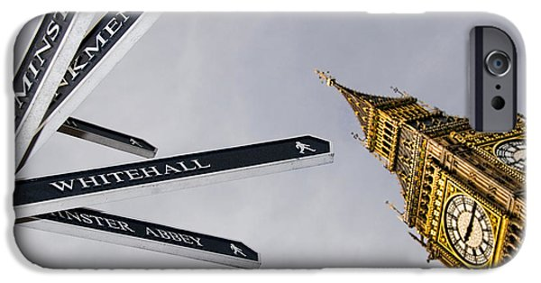 London Street Signs IPhone 6s Case by David Smith