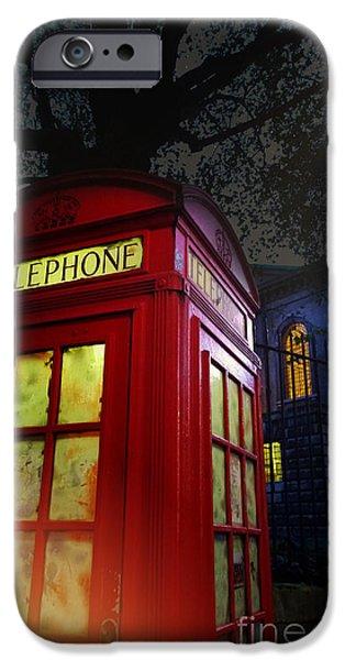 London Tardis IPhone Case by Jasna Buncic