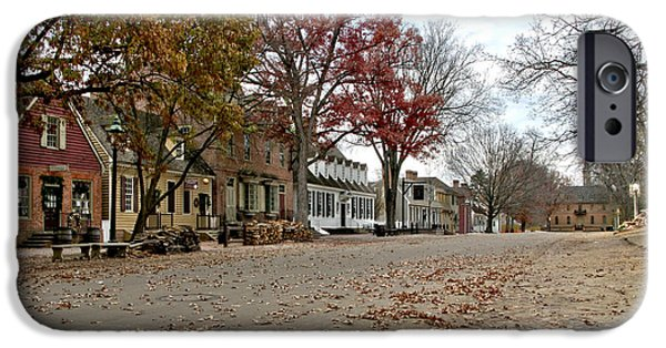 Lonely Colonial Williamsburg IPhone Case by Olivier Le Queinec