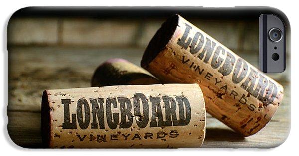 Longboard Corks IPhone Case by Jon Neidert