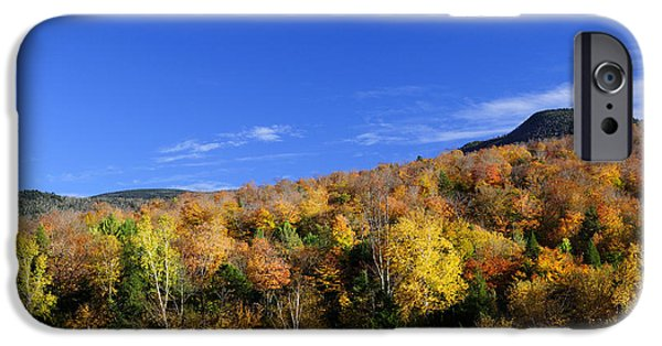 Loon Mountain Foliage IPhone Case by Luke Moore