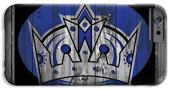 Los Angeles Kings Barn Door IPhone Case by Dan Sproul